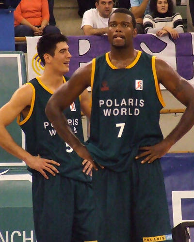 "Triguero y Thompson, las ""twin towers"" del Polaris World (Foto: Fran Martínez)"