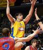 Esteban Batista, por encima de todos (foto: FM)