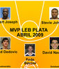 MVP LEB PLATA ABRIL