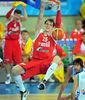 Mate de Mozgov ante Grecia (Foto FIBA/Castoria/Wiedensohler)