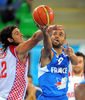 Parker, otra vez clave en la victoria francesa (Foto FIBA/Castoria/Wiedensohler)