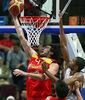 Exhibición de Gasol ante la selección gala (Foto FIBA EUROPE /CASTORIA /VLACHOS).