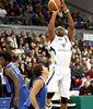 Gerald Brown lanzando a canasta (Foto: J. Fernandez/FIBA Americas) <br>