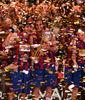 El Barça celebra el triunfo (Foto: JML)
