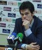 Borja Comenge en la rueda de prensa post-partido (Foto: CBSJG)