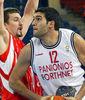 Dimitrios Mavroeidis, fuerza interior para Bizkaia Bilbao Basket (Foto: FIBA/Argiris Makris)