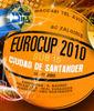 Letrero promocional del V Torneo Internacional Ciudad de Santander
