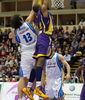 Slaughter vuela hacia el aro (ACB Photo/C.Minguela)