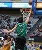 Marko Todorovic palmeando a canasta<br> Foto: Charly Mula