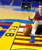 Xavi Rabaseda, presentado como jugador del Barça (Foto: www.fcbarcelona.cat)
