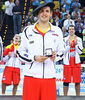 Nikola Mirotic, un MVP con la tradicional txapela vasca (Foto: Luis Fernando Boo)