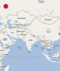 Mapa overseas.