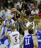 Imagen del Hungría-Finlandia (Foto: FIBA)