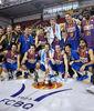 FC Barcelona Regal, flamante campeón de la Lliga Catalana ACB (Foto Jordi Montraveta)