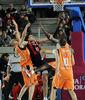 El partido fue un caos (ACBPHOTO / Lino González)
