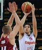 Pepe Pozas ya sabe lo que es ser oro en un Europeo U20 (foto FIBA Europe)