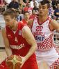 Dario Saric en su debut con Croacia (Foto FIBA Europe)