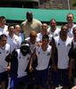 Shaquille O'Neal, con el equipo de Fuerza Regia (Foto: fuerzaregia.com).