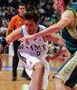 Rudy Fernandez, el jugador más valorado del partido, defendido por Urtasun (Foto: ACBmedia)