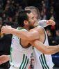 Marko Popovic celebra el triunfo (Foto: lkl.lt)