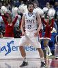 Sergio Llull celebra la victoria ante Valencia Basket <br> Foto: ACB Media