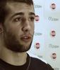 Nacho Llovet testeando First V1sion en Belgrado Baskteball