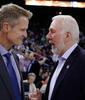 Steve Kerr y Gregg Popovich