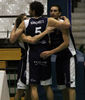 Piña tras victoria del Oviedo Baloncesto