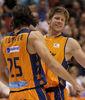 Loncar y Harangody disfrutaron de su mejor partido como taronjas
