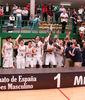 El Real Madrid, Campeón de España junior 2014 (foto FEB)