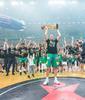 Zalgiris, campeón en Lituania (Foto: Twitter oficial de Zalgiris Kaunas)