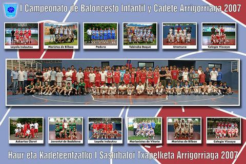 Poster del Campeonato Arriogorriaga