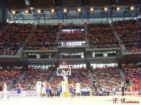 El real madrid vuelve al palacio de los deportes - Pabellon de deportes de madrid ...