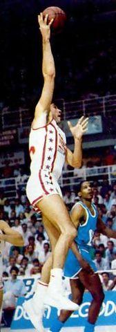 Fernando Martín, una estrella NBA más (Foto cedida por la Fundación Pedro Ferrándiz)
