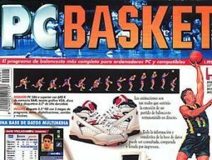Caratula del primer PC Basket