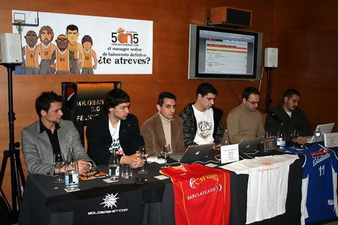 Momento de la presentación del juego (Foto: JML)