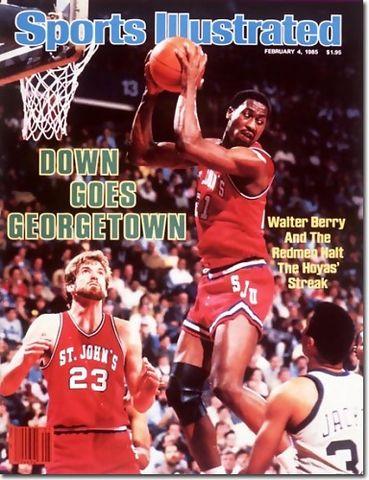 Walter Berry, portada de Sports Ilustrated en su època universitaria