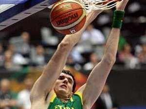 Darjus Lavrinovic con Lituania (Foto: AFP)