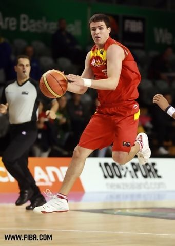 Dani Pérez fue de los mejores españoles en el Mundial U19 (foto FIBA.com)