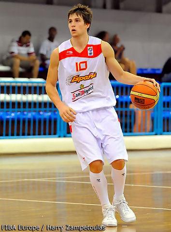Xavi Rabaseda está cuajando un excelente Europeo (foto FIBA Europe)
