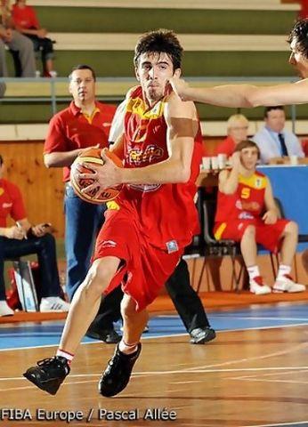 Josep Franch, el base de futuro del DKV Joventut (foto FIBA Europe)