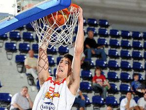 Joan Sastre fue uno de los destacados de la jornada y máximo anotador del equipo (foto FIBA Europe)