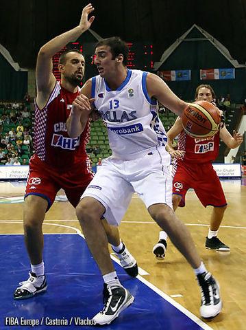 Kostas Koufos ha disputado minutos de calidad (Foto FIBA/Castoria/Vlachos)
