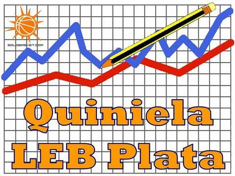 Déjanos tu apuesta en la Quiniela LEB Plata (Pablo Romero)
