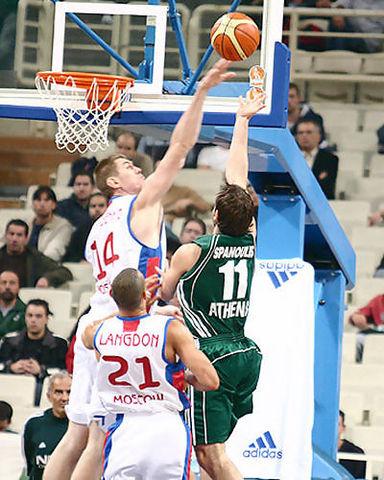Spanoulis fue el MVP de la joranada (cskabasket.com)
