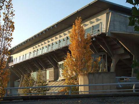 Palacio de los Deportes de Huesca (Foto: Cebes)