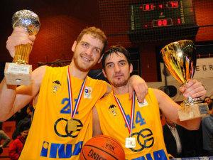 Luka Zoric y Mulaometrovic fueron los mejores del Zagreb (Foto: kk-zagreb.hr)