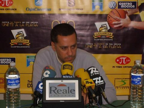 Alejandro Martínez valora positivamente a su equipo (Foto: Socas Canarias)