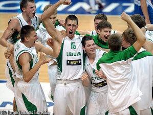 Lituania, campeón de Europa Sub18 (Foto: FIBA Europe/Irmantas Sidarevicius)