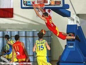 Joan Tomas, el mejor español en el Europeo U18 (Foto: FIBA Europe/Ciamillo Castoria)